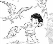Coloring pages Viana baby