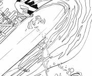 Coloring pages Viana the legend from the end of the world