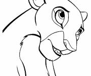 Coloring pages easy nala drawing