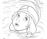 Coloring pages Lily the Tigress by Peter Pan