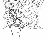 Coloring pages Amber disney