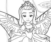 Coloring pages Amber in Princess Sophia