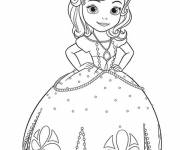 Coloring pages Princess Sofia and the Butterfly Princess