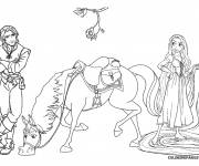 Coloring pages Raiponce