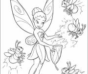 Coloring pages Iridessa: Tinkerbell