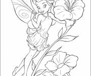 Coloring pages Tinkerbell: Iridessa
