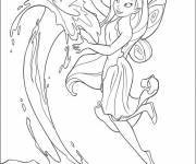 Coloring pages Vidia: Tinkerbell