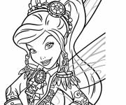 Coloring pages Walt Disney Tinkerbell