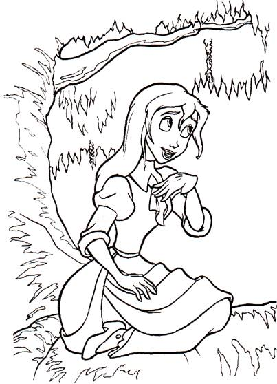 Free coloring and drawings Coloring zootopia Coloring page