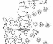 Coloring pages Adult Agriculture