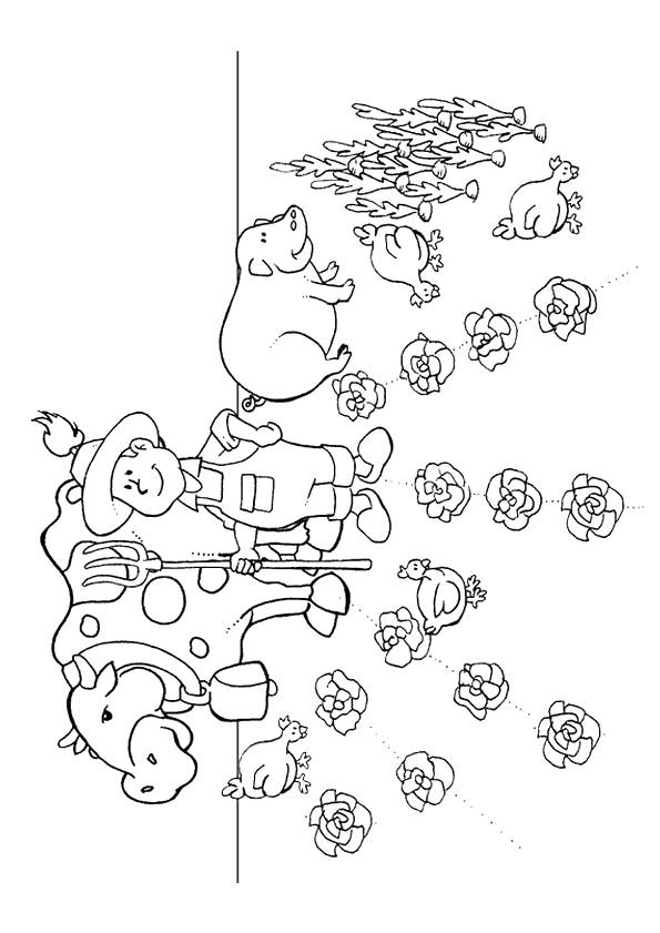 Free coloring and drawings Adult Agriculture Coloring page