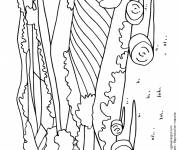 Free coloring and drawings Agricultural fields Coloring page
