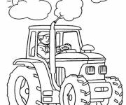 Coloring pages Almighty tractor