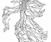 Coloring pages Artistic Fall Tree