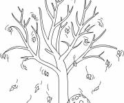 Coloring pages Autumn has arrived
