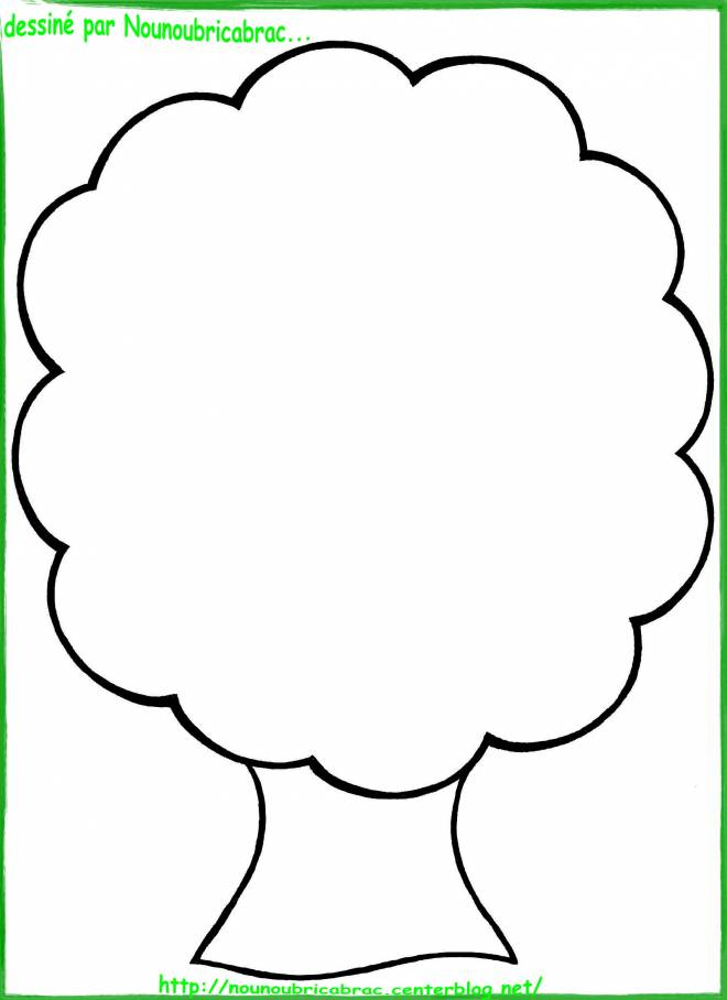 Free coloring and drawings Autumn tree Coloring page