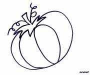 Coloring pages Fall halloween