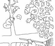 Coloring pages Humorous fall