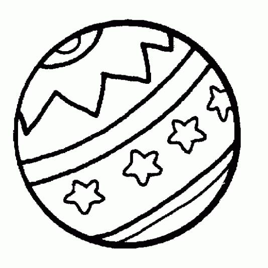 Free coloring and drawings Drawn Beach Ball Coloring page