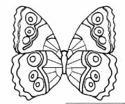 Coloring pages Beautiful butterfly to decorate