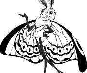 Coloring pages Princess Butterfly