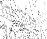 Coloring pages Bee in the City