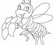 Coloring pages Bee to download