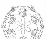 Coloring pages bees