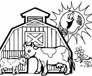 Free coloring and drawings Agriculture and Countryside Coloring page