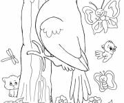 Free coloring and drawings Life in the Countryside Coloring page