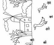 Free coloring and drawings Maternal campaign Coloring page