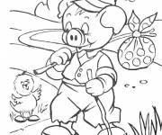 Free coloring and drawings Spring campaign Coloring page