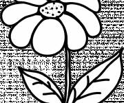Coloring pages Daisy in black and white