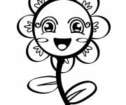 Coloring pages Daisy in color