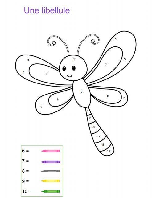 Free coloring and drawings A funny dragonfly  Coloring page