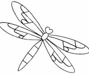 Coloring pages Dragonfly 55