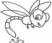 Coloring pages Dragonfly 61