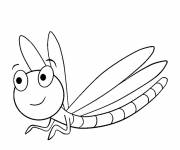 Coloring pages Dragonfly 63