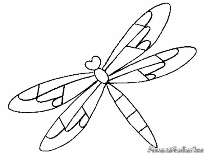 Free coloring and drawings Dragonfly adult fun Coloring page