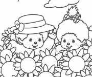 Coloring pages Children and Disney Fields