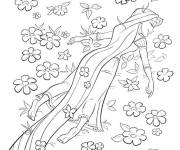 Coloring pages The Princess in Le Champs