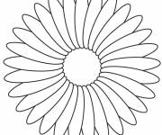 Coloring pages A pretty flower
