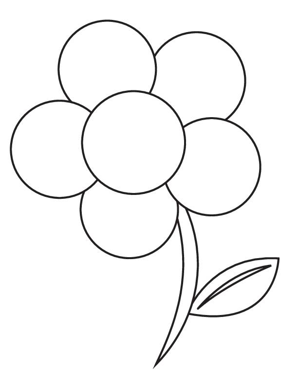 Free coloring and drawings Maternal adult flower Coloring page