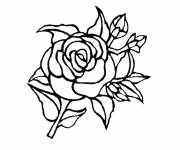 Coloring pages Spring theme flower