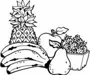 Coloring pages Maternal fruit