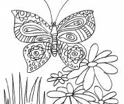 Coloring pages Garden Flowers