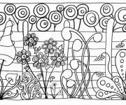 Coloring pages Garden and Plants