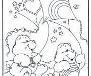 Coloring pages Bear and The Kite