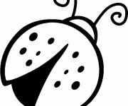 Free coloring and drawings Ladybug in color Coloring page