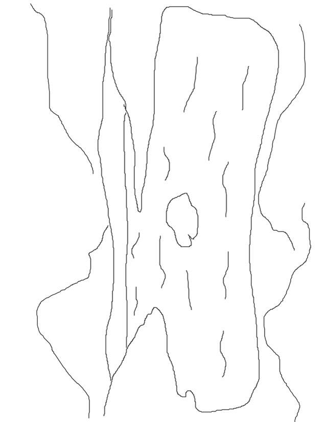Free coloring and drawings Easy lake Coloring page